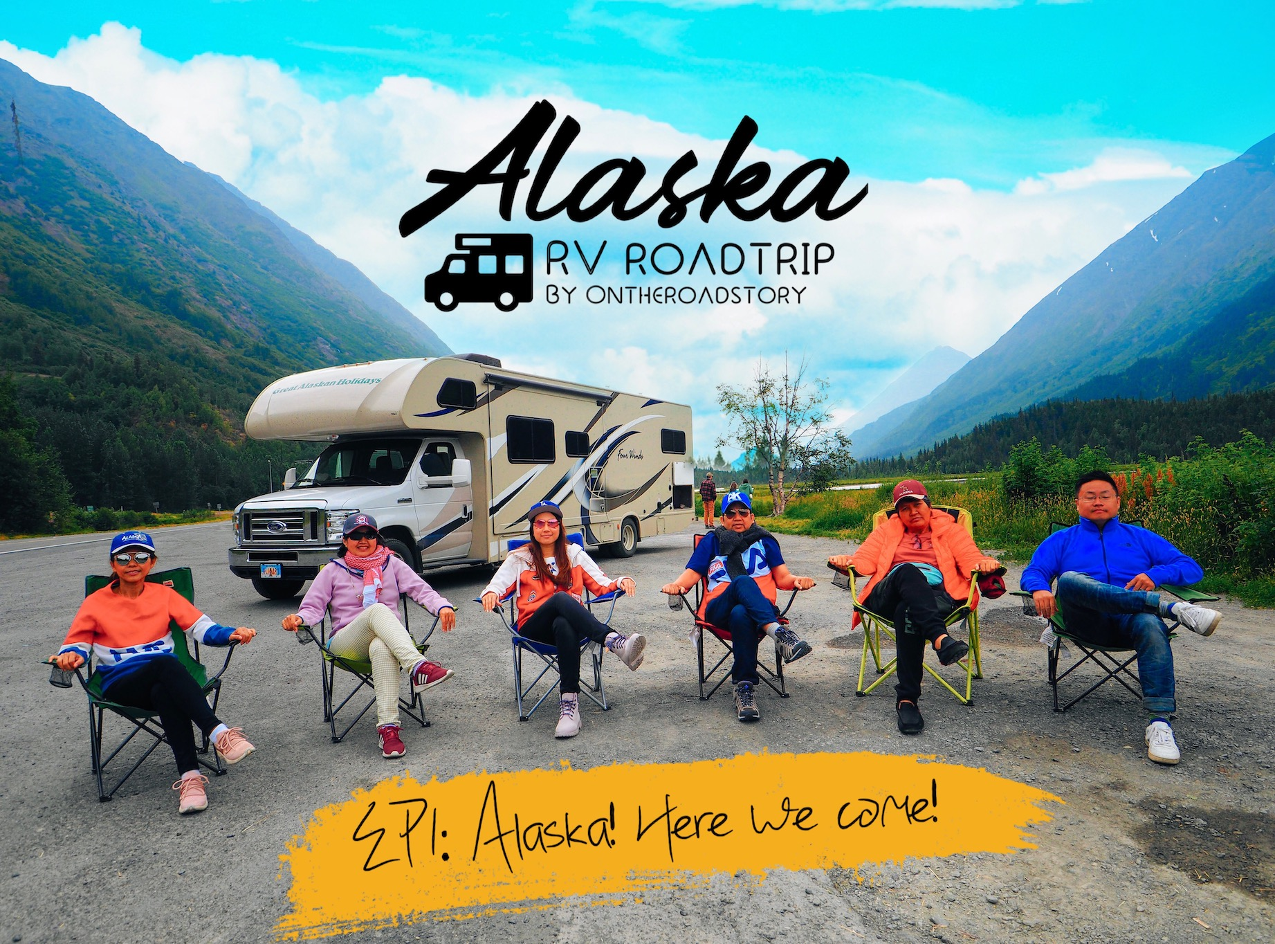 Alaska RV Road Trip: EP1 Alaska! Here we come!