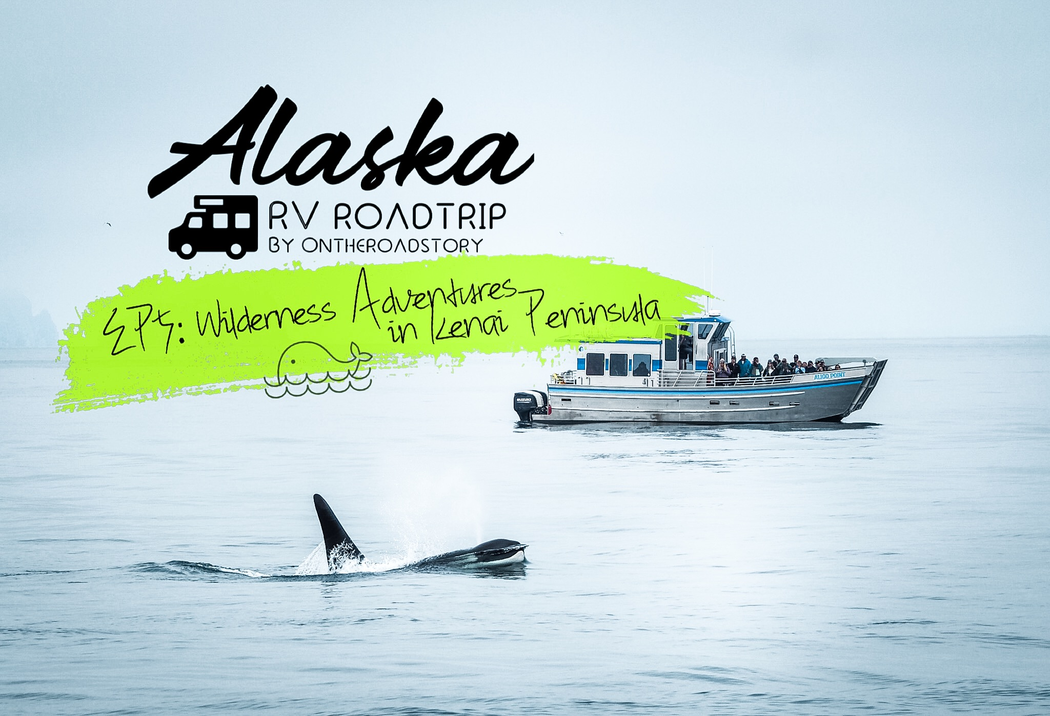 ALASKA RV ROAD TRIP : EP5 Wilderness Adventures in Kenai Peninsula